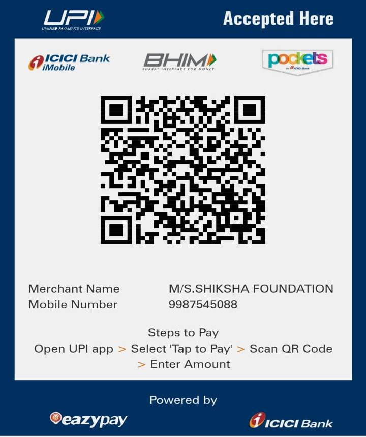 Shiksha-Foundation-UPI-Code